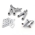 Front Footpegs Footrests Brackets Set Honda CBR600RR (07-12) 50600-MFJ-D00, 50660-MFJ-305, 50665-MFJ-305, 50700-MFJ-D00, 50607-MEE-010, 50707-MEE-000