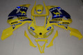 Fairings Yamaha YZF-R6 Yellow Blue Camel R6 Racing (1998-2002)