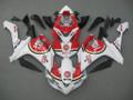 Fairings Yamaha YZF-R1 White Red Lucky Strike Racing (2007-2008)