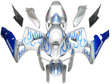 Fairings Honda CBR 600 RR Silver & Blue Flame Racing (2005-2006)