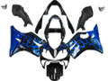 Fairings Honda CBR 600 F4i Black & Blue Flame Racing (2001-2003)