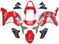 Fairings Honda CBR 954 RR Red & Silver No.2 Spin's Racing (2002-2003)