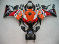 Fairings Honda CBR 1000 RR Black Orange Repsol Racing (2006-2007)