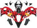 Fairings Suzuki GSX1300R Hayabusa Red & Black Flame Racing  (1996-2007)