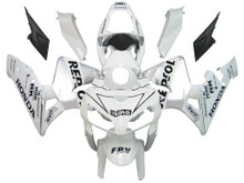 Fairings Honda CBR 600 RR White & Silver Repsol Racing (2005-2006)