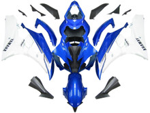 Fairings Yamaha YZF-R6 Blue & White R6 Racing (2006-2007)