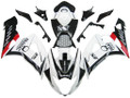 Fairings Suzuki GSXR 1000 White Black Pramac Racing  (2005-2006)