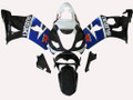 Fairings Suzuki GSXR 1000 Black Blue White GSXR Racing  (2003-2004)