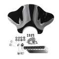 Universal Motorcycle Cruiser Windshield Windscreen with Mounting kit