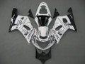 Fairings Suzuki GSXR 600 White Black Alstare Corona GSXR Racing  (2001-2003)