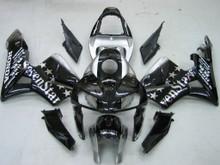 Fairings Honda CBR 600 RR Black & Silver SevenStars Racing (2005-2006)