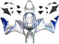 Fairings Honda CBR 600 RR Silver & Blue Flame Racing (2007-2008)