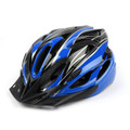 Street Bike Bicycle Cycling Safety Carbon Helmet Blue with Visor,Blue