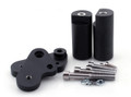 Frame Sliders Crash Protector Yamaha YZF R1 (2009-2010) Black