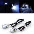 LED License Plate Bolts Tag Illumination Lights Universal Fit, 2 pcs