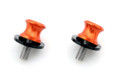 10mm Swingarm Sliders Spools KTM Orange