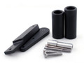 Frame Sliders Crash Protector Kawasaki Ninja 650 (2009-2012) Black