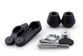 Frame Sliders Crash Protector Yamaha YZF R1 (2009-2012) Black