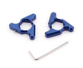 Blade Fork Preload Adjusters GSXR 1000 Kawasaki Z 750 Yamaha R1 14mm Blue