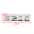 Car Trunk Rear Emblem Badge Letters E200 E200 E Class W124 W210 W211 Chrome Benz