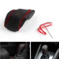 Genuine Leather Gear Shift Knob Cover Automatic Buick Lacrosse (2014-2015) Black