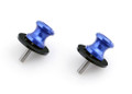 Spools 6MM Swingarm Sliders Yamaha YZF R1 R6 R6S FZ6 FZ8 XJR 1300 Blue