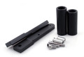 Frame Sliders Crash Protector Honda CBR600RR (2009-2012) Black