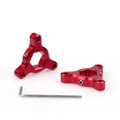 Fork Preload Adjusters Z 750 R1 GSXR 1000 14mm Red