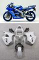 Fairings Plastics Kawasaki ZX6R 636 Blue ZX6R Racing (2000-2002)