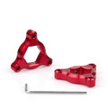 Fork Preload Adjusters Ducati 1098 17mm Red