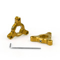 Fork Preload Adjusters Z 750 R1 GSXR 1000 14mm Gold