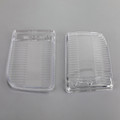 Front Bumper Fog Lights Clear Plastic Lens BMW E30 318i 318is 1982-1991 Pair Set