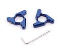 Blade Fork Preload Adjusters CBR 600 1000RR Kawasaki ZX6R Z1000 GSXR750 19mm Blue