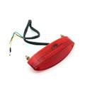 Tail Light LED License Tag illumination Running Universal Fit, Red