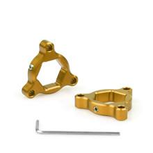 Fork Preload Adjusters CBR 600 1000RR Kawasaki ZX6R Z 1000 19mm Gold