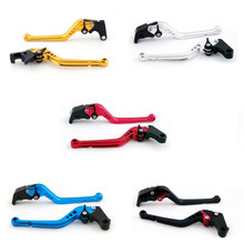 Standard Staff Length Adjustable Brake Clutch Levers Suzuki GSXR750 2004-2005