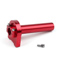CNC Twist Throttle Moped Scooter Street Motorcycle Dirt Monkey Bike Red