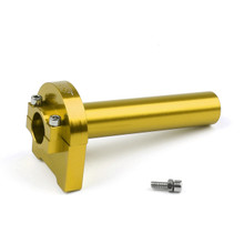 CNC Twist Throttle Moped Scooter Street Motorcycle Dirt Monkey Bike Gold