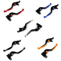 Staff Length Adjustable Brake Clutch Levers Kawasaki GPZ500S EX500R NINJA 1990-2009 (F-14/K-750)