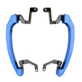 CNC Rear Passenger Seat Hand Rail For Yamaha MT-07 MT07 13-18 Blue