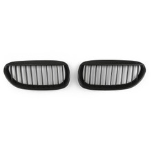 Front Grille For BMW (04-10) E63 E64 6-series Coupe Convertible, Matte Black