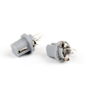 10pcs Genuine PHILIPS 13598 T5 24V 1.2W BAX8.5d/2 Grey Singnaling Lamp Bulbs