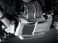 Stock Oil Cooler Cover For 11-15 Harley Touring Electra Road Street Glide