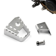 Rear Brake Lever Extension Enlarge BMW F800GS F700GS F650GS Twin (2008-2015) Silver