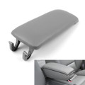 PU Leather Center Console Armrest Cover Lid Audi A4 B6 S4 A6 (2001-2006) Gray