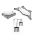 Engine Stator Cover Crash Pad Slider Protector For 15-17 Kawasaki Z800, Titanium