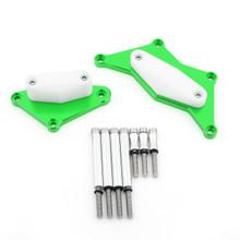 Engine Stator Cover Crash Pad Slider Protector For 15-17 Kawasaki Z800, Green