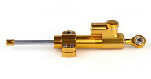 Universal Steering Damper Stabilizer Adjustable (Universal Fit) Gold (M526-A008-Gold)