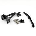 Steering Damper Stabilizer Bracket Kit Yamaha FZ09 MT09 (2013-2015) Black