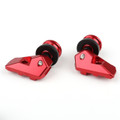 Swingarm Spool Slider Adapter Mounts YAMAHA YZF R3 R25 (2014-2016) Red
